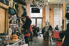 Lock 7 - Part café, part bicycle repair shop - Pritchards Road, London, E2 9AP