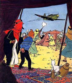 Journal de Tintin N°19, cover picture, ppublished 3 March 1949