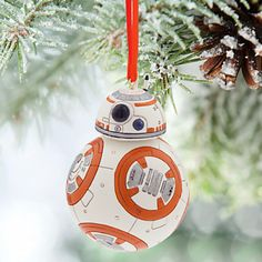 Deck the halls with some help from this adorable droid.
