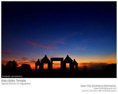 Ratu Boko Temple, Yogyakarta