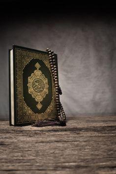 Koran - Holy Book Of Muslims Islamic Phrases, Islamic Qoutes, Islamic Images, Islamic Pictures, Quran Wallpaper, Islamic Wallpaper, Allah Calligraphy, Islamic Art Calligraphy, Black Phone Wallpaper