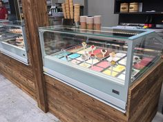 A delicious ice cream every time! 😋 # café to the Source by blumenwelthdnerhof The post Ice 🍦 appeared first on Wooden. Cafe Bistro, Ice Cream, Ps, Wood, Yummy Ice Cream, Timber Table, Time Out, Nature, Sherbet Ice Cream