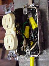 Hot wiring a work bench adding built in outlets its pretty much custom wiring a work bench adding electrical outlets to a wooden bench or table greentooth Image collections