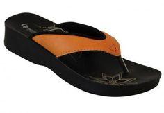Aerowalk orange sandal