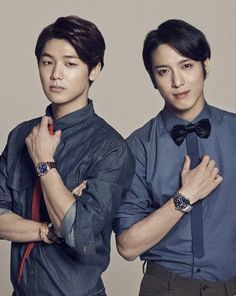 CNBLUE's Minhyuk and Yonghwa are classy in denim for 'Esquire' | http://www.allkpop.com/article/2014/10/cnblues-minhyuk-and-yonghwa-are-classy-in-denim-for-esquire
