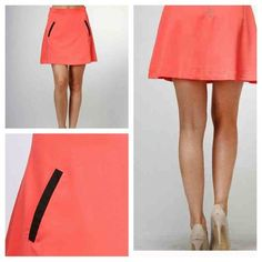 """NWT Moon Collection """"Pink Skirt"""" Perfect Skirt for spring and summer. Photos courtesy of Moon Collection. Moon Collection Skirts"""