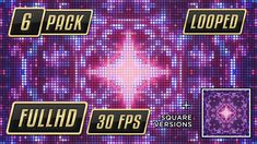 VJ Pixel Loops 6 Pack   Set of six different loops for vjing, retro style.     6 Motion Graphics Videos        All files Looped           5 shots 1920×1080 and one in 1920×1920 – all in 30 fps...
