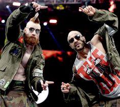 Cesaro and Sheamus