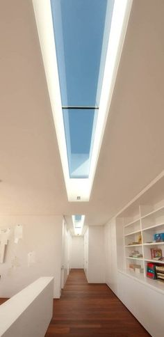 Elegant Tubular Skylight for Basement