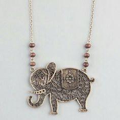 tillys signature elephant jewlery
