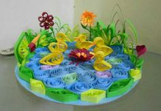 Paper quiling art
