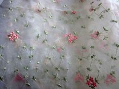 embridered sheer fabric - Google Search