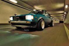 KE70 front left blue poke Corolla Ke70, Corolla Wagon, Toyota Corolla, Nissan Sunny, Rims For Cars, Ae86, Car Parts, Art Cars, Custom Cars