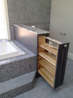 bathroom storage ideas - Re-organize your towels and toiletries during your next round of spring cleaning. Check out some of the best small bathroom storage ideas for House Design, House, Home Projects, Interior, Home, Building A House, New Homes, Bathrooms Remodel, Bathroom Design