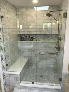 If you are looking for Master Bathroom Shower Remodel Ideas, You come to the right place. Here are the Master Bathroom Shower Remodel Ideas. Bathroom Remodel Pictures, Restroom Remodel, Remodel Bathroom, Tub Remodel, Restroom Ideas, Tub To Shower Remodel, Master Bath Remodel, Bathroom Images, Inexpensive Bathroom Remodel
