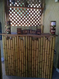 Texture Plus | Bamboo | DIY Tiki Project- Bamboo is super cheap!