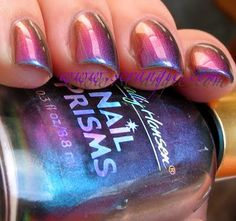 """GASP!!! I didn't know Sally Hansen made prism colors!!! I also just found out earlier tonight that they have a """"sugar coat"""" & a """"fuzzy coat"""" line. Check it out at sallyhansen.com!"""