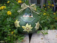 Spring Garden Frog Gourd