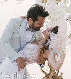Beren Saat ve Kenan Doğulu evlendi
