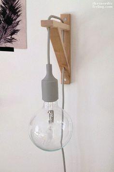 DIY: Lámpara de bombilla XL para tu salón