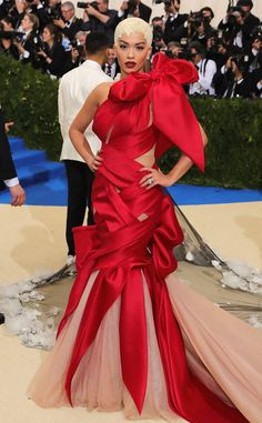 Rita Ora from 2017-met-gala-red-carpet-arrivals | E! Online