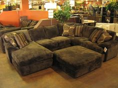 Sectional Sofas With Large Cushions