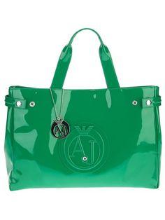 Armani Jeans Bolsa Verde - Segreto - Farfetch.com