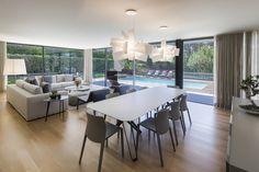 AM 2014 - Fão: Salas de jantar Moderno por INAIN® interiordesign