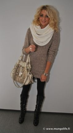 Love this comfy classy look