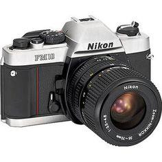 Nikon   FM10 35mm SLR Camera with 35-70mm Lens USA