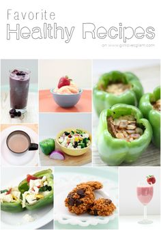 My favorite healthy recipes to keep my healthy new years resolutions on track.