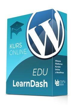 W kursie eduLearnDash uczę jak samodzielnie zbudować własną platformę kursów online w oparciu o LMS LearnDash oraz CMS WordPress.