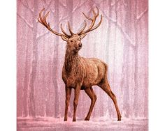 Hey, I found this really awesome Etsy listing at https://www.etsy.com/listing/254785845/stags-christmas-or-greeting-card-pack-of
