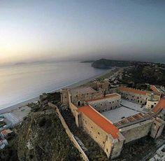 Castle in Milazzo, Sicily