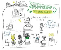 Imagined of Skill share meet up. Pencil, Sketches, Meet, Thoughts, Cool Stuff, Drawings, Doodles, Sketch, Sketching