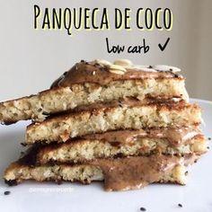 Panqueca de coco low carb - Emagrecer Certo