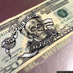the dead presidents by el whyner more dead presidents u s presidents ...