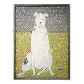 Found it at Wayfair - Boy Dog Framed Painting Print