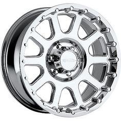 18x9 Chrome Pro Comp Series 32 32 5x150 0 Wheels 37X12.50R18LT Tires