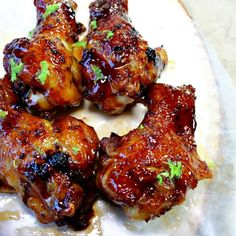 Citrus and spicy, with a hint of honey sweetness, these Cajun Honey Lime Chicken Wings may change the way you flavor your wings forever. The wings are oven baked, and basted with an amazing sauce that will make these wings a crowd favorite. Best Chicken Wing Recipe, Chicken Wing Recipes, Honey Lime Chicken, Cajun Dishes, Cooking Recipes, Healthy Recipes, Delicious Recipes, Fried Chicken, Glazed Chicken