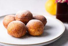 Túrófánk egyszerűen Churros, Muffin, Peach, Fruit, Breakfast, Dios, Peaches, The Fruit, Muffins