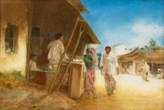 Le marché indien by Carlton Alfred Smith