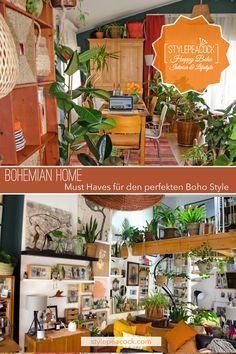 Boho Wohnstil einfach umgesetzt: So erhält dein Zuhause Bohemian Flair mit wenigen Mitteln. [unbezahlte werbung + affiliate links] Wichtige Must Haves für dein gemütliches Heim im Boho Style. #Bohostyle #bohemian #bohemien #bohostil #bohohome #eclecticliving #vintagelove #plantlover #bohemians #bohostil #bohomöbel #bohemiandecor #bohodeko Urban Lifestyle, Lifestyle Blog, Bohemian Living, Mid-century Interior, Boho Home, Boho Stil, Boho Fashion, Mid Century, Projects