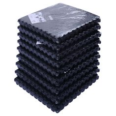 Soozier 216 sq. ft. Interlocking Protective Flooring Equipment Mat - 02-0233