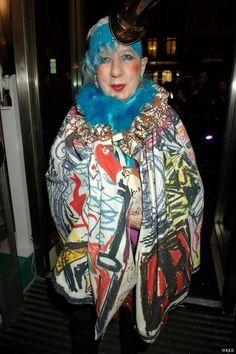 《VOGUE》義大利版時尚女巫安娜皮亞姬Anna Piaggi過世享壽81歲