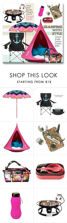 """Glamping With Style!"" by esch103 ❤ liked on Polyvore featuring interior, interiors, interior design, home, home decor, interior decorating, Sunnylife, Cacoon, ACME Party Box Company and The North Face"