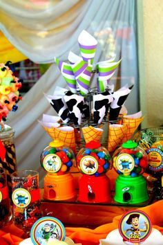 Toy Story Themed Party Table