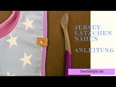 Jersey-Lätzchen nähen | Anleitung