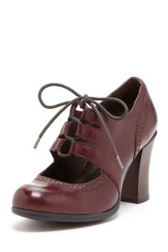 Rosel Lace-Up Shoe - love the oxford stitching and the not-too-high heel!