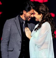 Shahrukh Khan and Madhuri Dixit have again created their magical charm on everyone.
